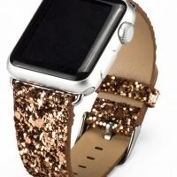Ремешок crystal texture Gold for Apple Watch 38/40/42/44mm