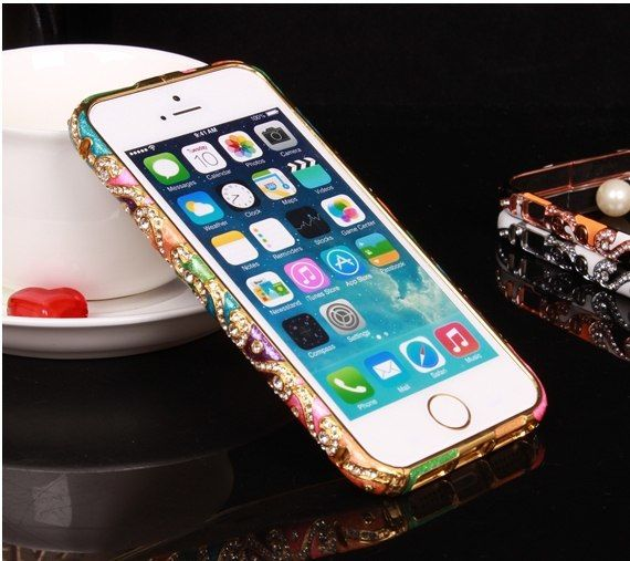 фото Бампер New Swarovski bumper colors №1 ceramic for iPhone 5.5s