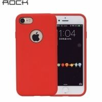 Чехол для iPhone 6.6s/ 7.8 Rock Silicone Case - Red