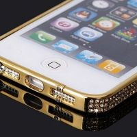 Бампер iFashion для iPhone 5 Золото