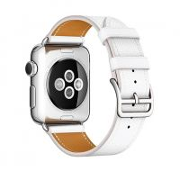 Ремешок для Apple Watch 38/40mm Hermes Single Tour White, Цена: 778 грн, Фото