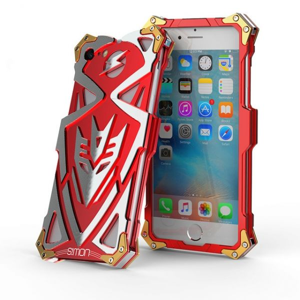 фото Чехол for iPhone 7. 7 plus/ 8.8 plus Luxury Metal Simon Red