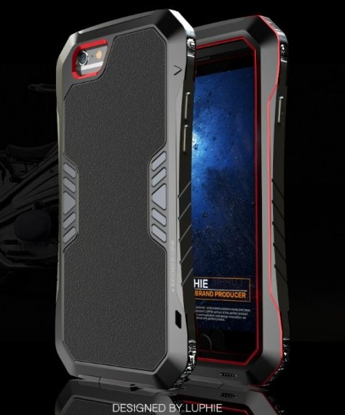фото Чехол Luphie Armor black for iPhone 6. 6 plus / iPhone 7. 7 plus. 8.8 plus