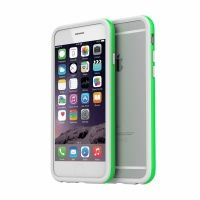 Бампер Araree Bumper case White-Green for iPhone 6 оригинал, Цена: 560 грн, Фото