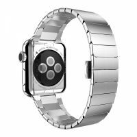 Stainless Steel Link Bracelet for Apple Watch 38/40/42/44mm