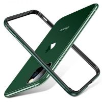 Бампер Silicone-Aluminium для iPhone 11 Pro Max - Midnight Green, Цена: 477 грн, Фото