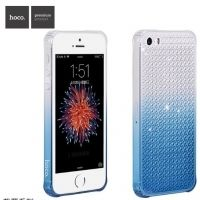 Чехол silicone HOCO Diamond iPhone 5s.5se. 6.6s Blue