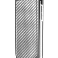 X-Doria Defense Lux iPhone 6s/6 Plus Fitted Hard Shell Case - Carbon White