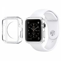 Чехол Silicol 0.6mm для Apple Watch 38mm and 42mm White