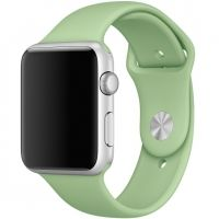 Ремешок Silicone Mint Band for Apple Watch 38/40/42/44mm
