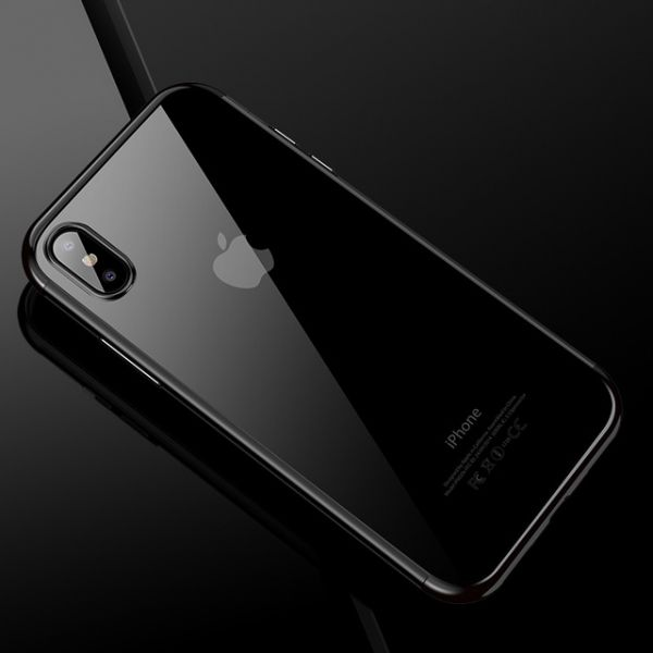 фото Чехол Silicone Case CAFELE iPhone X/XS / iPhone 10 Black