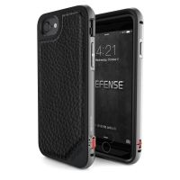 X-Doria Defense Lux iPhone 7/7 Plus Fitted Hard Shell Case - Black