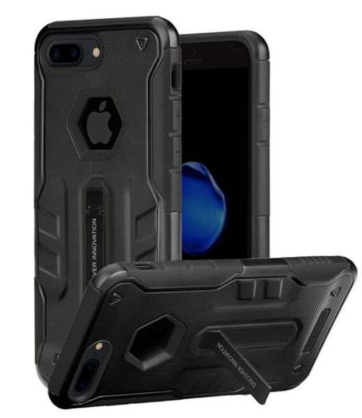 Фото Чехол Nillkin Defender 4 Series Armor-border iPhone 7. 7 plus/ 8.8 Plus Black
