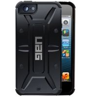 Чехол защитный Urban Armor Gear Composite Case for iPhone 4.4s.5 Black