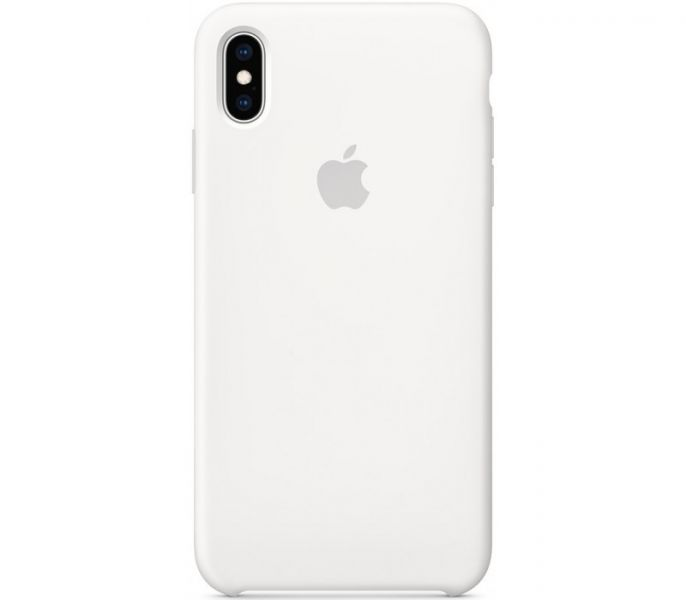 фото Чехол Apple Silicone Case for iPhone Xs Max - White