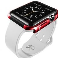 Накладка X-Doria Defense Edge Aluminum Apple Watch 42mm (Red)