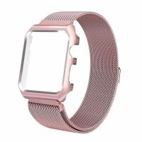 Чехол-браслет Apple Watch 38/40/42/44mm with Milanese Loop (magnetic) Pink