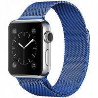 Браслет Apple Watch 38/40/42/44mm Milanese Loop (magnetic) Blue
