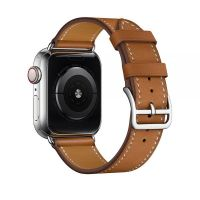 Ремешок для Apple Watch 38/40mm Hermes Single Tour Brown, Цена: 778 грн, Фото