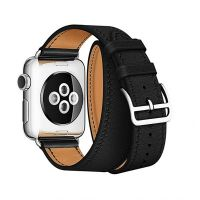 Ремешок для Apple Watch 42/44mm Hermes Double Tour Black, Цена: 929 грн, Фото