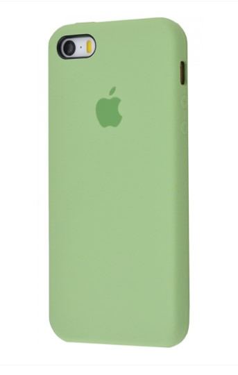Чехол Silicone Case для iPhone 5/5S/SE Mint Gum - Фото 1