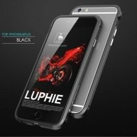 Бампер Luphie Ultra Luxury Black for iPhone 6.6s