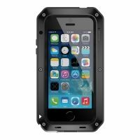 Чехол LunaTik iPhone 5/5s Taktik Strike Gorilla Glass Black