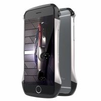 Бампер GINMIC Aluminum Carbon Fiber For iPhone 6.6S Silver, Цена: 753 грн, Фото