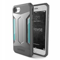 X-Doria Defense Gear Series for iPhone 7. 7 plus - Silver