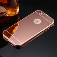 Чехол глянец Mirror Rose Gold case for iPhone 6.6s.& iPhone 7.7 plus /8.8 plus