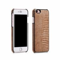 HOCO Series Classic Crocodile Leather Back Case for iPhone 6.6s. 6 plus - Beige