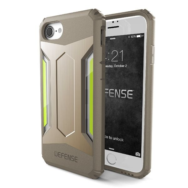 фото X-Doria Defense Gear Series for iPhone 7. 7 plus/ 8.8 plus - Gold