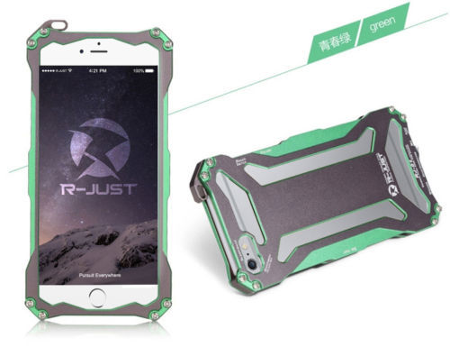 фото Бампер R-JUST Gundam Series Aluminum Metal Frame For iPhone 5.5s.6 Green