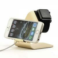 Подставка UNIVERSAL CHARGING STAND for Apple Watch and iPhone 5.5s.5se.6.6s/plus (gold)