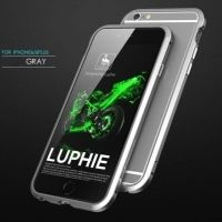 Бампер Luphie Ultra Luxury Grey for iPhone 6.6s