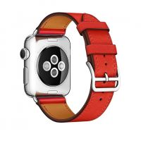 Ремешок для Apple Watch 42/44mm Hermes Single Tour Red, Цена: 778 грн, Фото