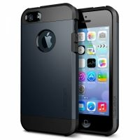 SGP SPIGEN Case Tough Armor Metal Slate- Защитный чехол для iPhone 5.5s