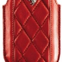 Карман кожаный Ferrari Sleeve Maranello, Leather for iPhone 3G.3Gs.4.4s.5.5s - (Red), Цена: 261 грн, Фото