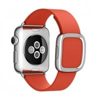 Браслет Red Modern Buckle for Apple Watch 38/40/42/44mm