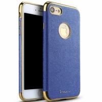 Чехол матовый iPaky Blue Full Cover For iPhone 7. 7 plus/ 8.8 plus