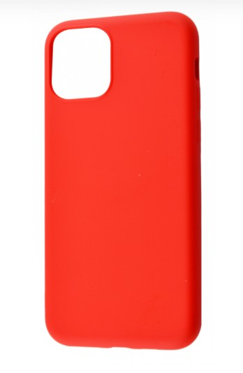фото Чехол Silicone cover My Colors с Packing для iPhone 11 Red