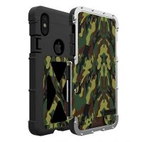 Чехол R-just Flip Armor King для iPhone XS Max Military