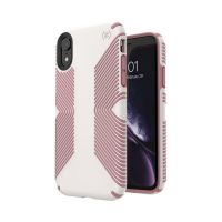 Чехол Speck fop Apple iPhone XR PRESIDIO GRIP - VEIL WHITE/LIPLINER PINK, Цена: 954 грн, Фото