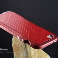Чехол- бампер Incisive sword Aluminum for iphone SE/5S/5 Red
