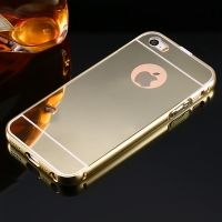 ����� ������ Mirror Gold case for iPhone 5.5s