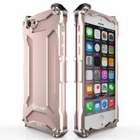 Бампер R-JUST Gundam Series Aluminum For iPhone 5.5s.6.6s Rose Gold