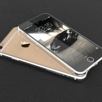 Тонкий бампер Designed by Luphie для iPhone 6. 6 plus Blade Silver