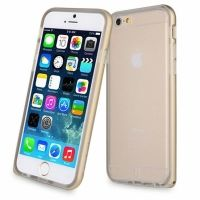 Чехол- бампер Baseus Fusion Case for iPhone 6. iPhone 6 plus Gold