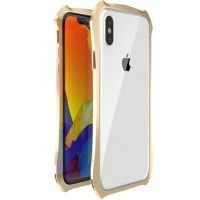 Бампер Luphie для iPhone X/Xs Gold