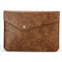 Чехол кожаный Dark Brown JisonCase for MacBook air 13.3 pro 13 retina